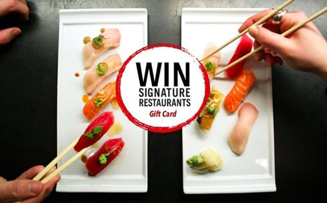 The gift that keeps on giving. Our WIN Signature Gift Cards are available online and can be used at all our locations! | @teikokurestaurant @aziemedia @azieonmain Mikado Thai Pepper