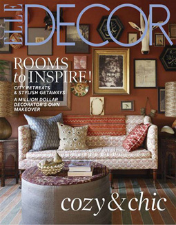 ELLE DECOR, DECEMBER 2012