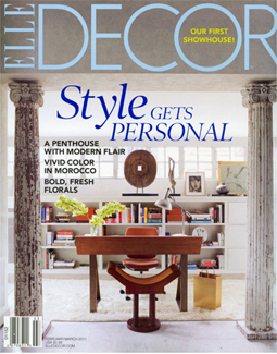 ELLE DECOR, FEBRUARY 2011