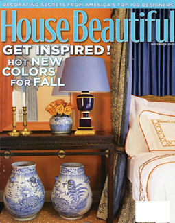 HOUSE BEAUTIFUL, NOVEMBER 2005