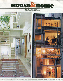 NYT HOUSE & HOME, NOVEMBER 2004