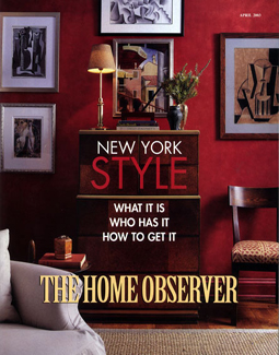THE HOME OBSERVER, APRIL 2003