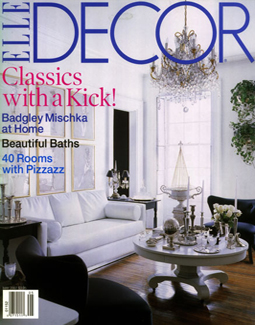 ELLE DECOR, APRIL 2002
