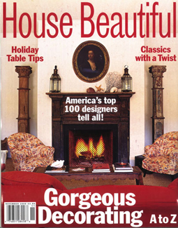 HOUSE BEAUTIFUL, NOVEMBER 2000