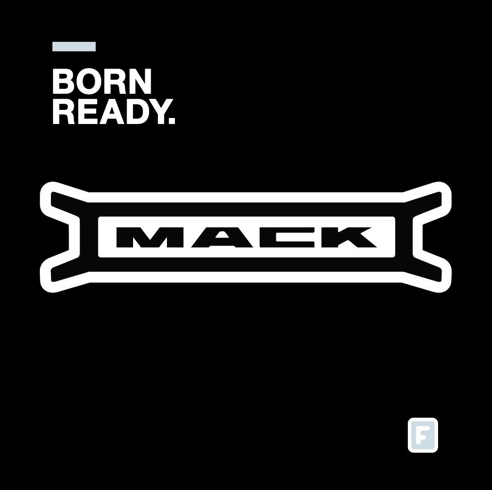 Mack Truck - Mack Truck partnered with fast-rising country star Steve Moakler to introduce its new truck.Entertainment marketing agency G7 Entertainment tapped Frunes to design and deliver the perfect sticker for its big event in September.