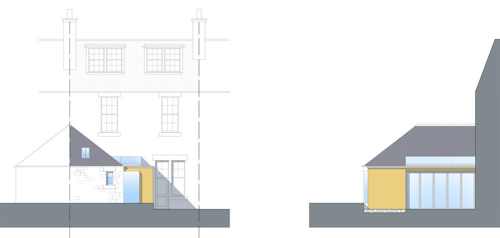 David Blaikie Architects_Comley Bank Elevations