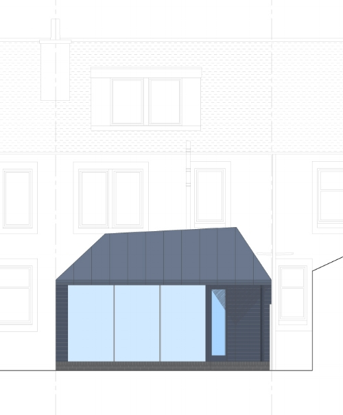 David Blaikie Architects_Edinburgh Road Elevation