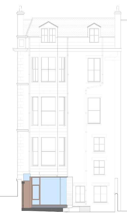 David Blaikie Architects_Learmonth Terrace Elevation