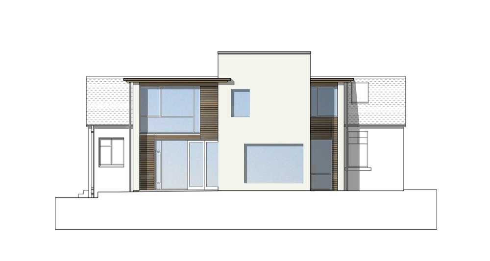 David Blaikie Architects_Columba Road Elevation