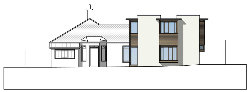 David Blaikie Architects_March Road Elevation
