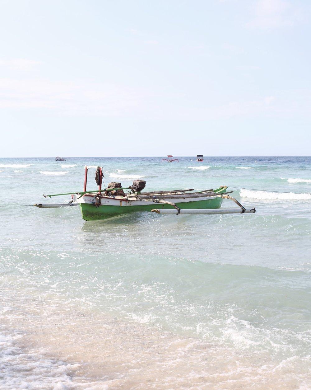Boat, Gili Islands - Hannah Gabrielle More Travel Photography