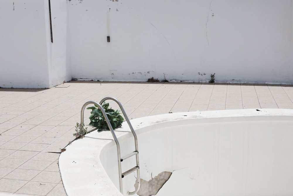 Empty Swimming Pool, Lanzarote - Hannah Gabrielle More Travel Photography