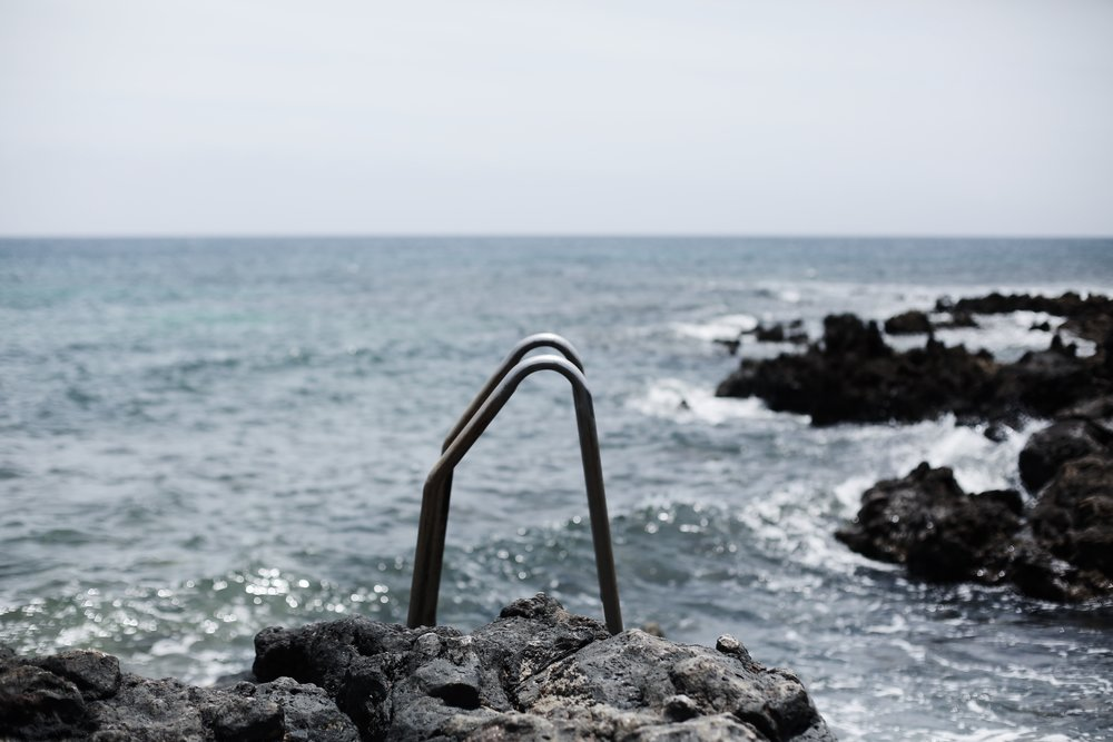 Ocean, Lanzarote - Hannah Gabrielle More Travel Photography