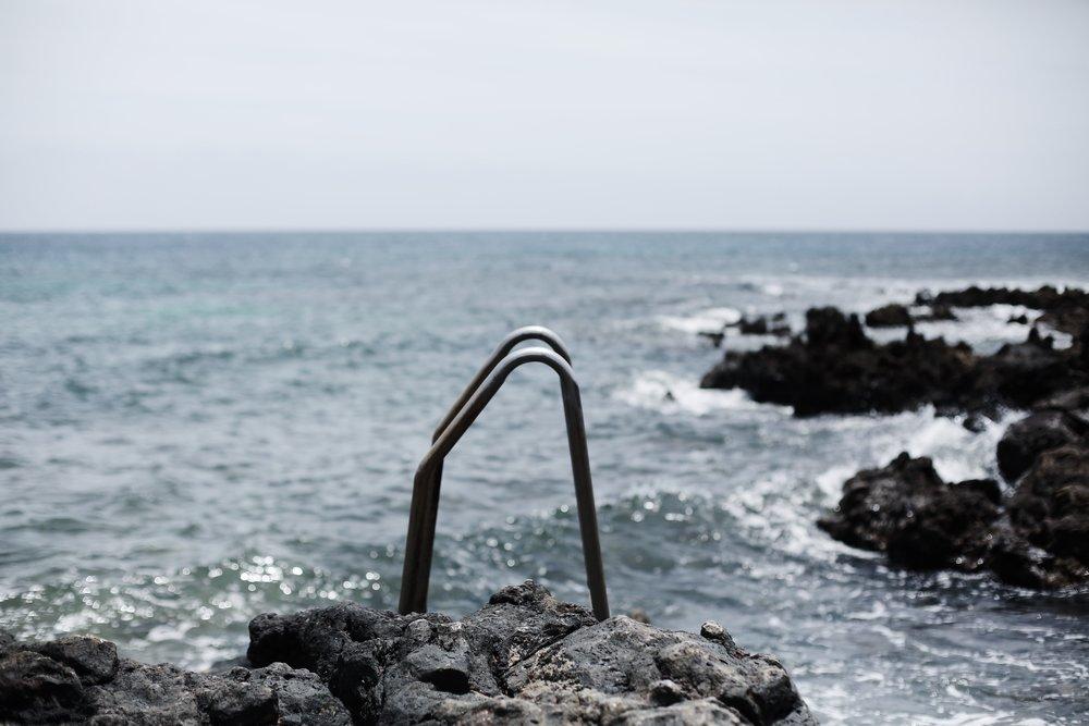 Ocean, Lanzarote - Hannah Gabrielle More Travel Photography