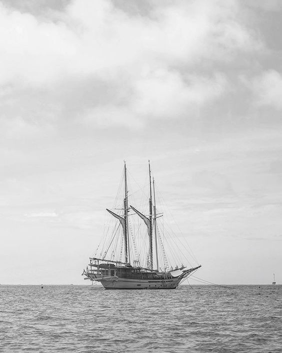 Ship in Indonesia - Hannah Gabrielle More Travel Photography