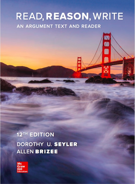 i am thrilled to be working with my former professor and original author of read reason write an argument text and reader dorothy u seyler