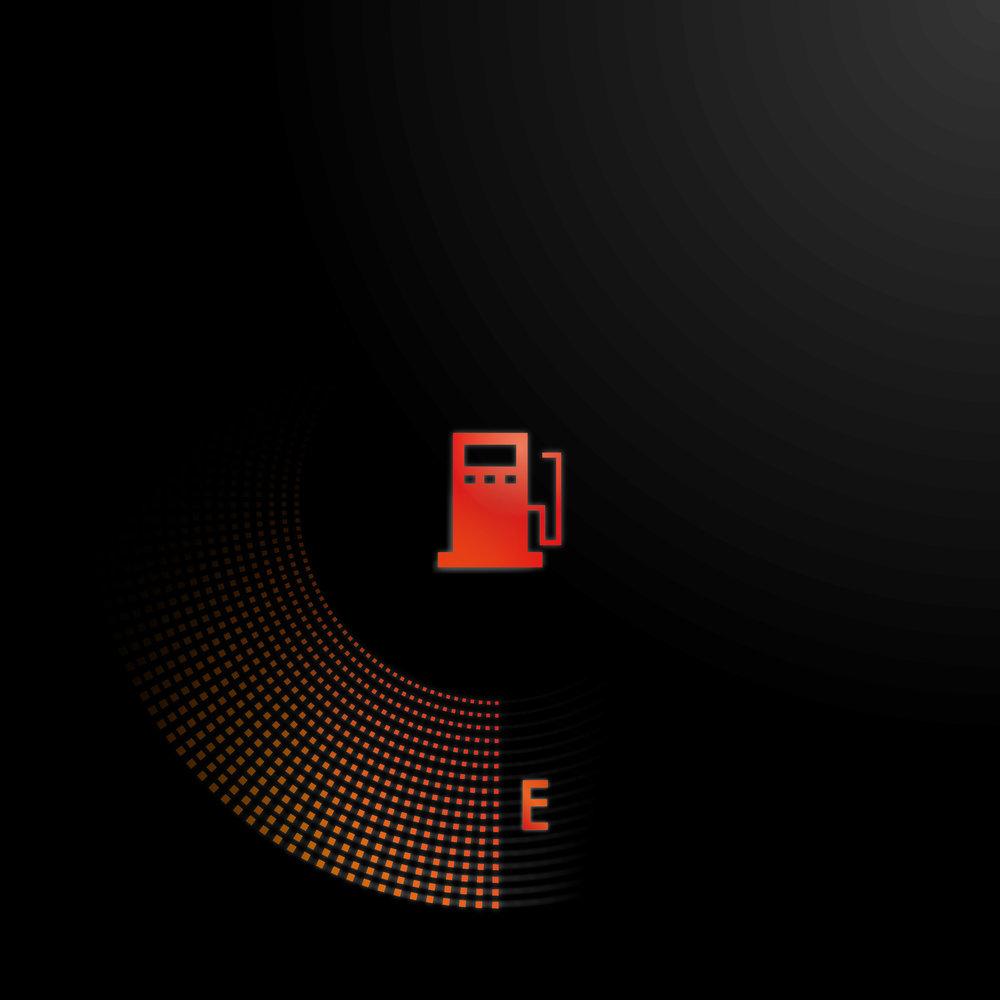 FUEL GAUGE - EMPTY  Portable Refuelling Vessel  Visual System