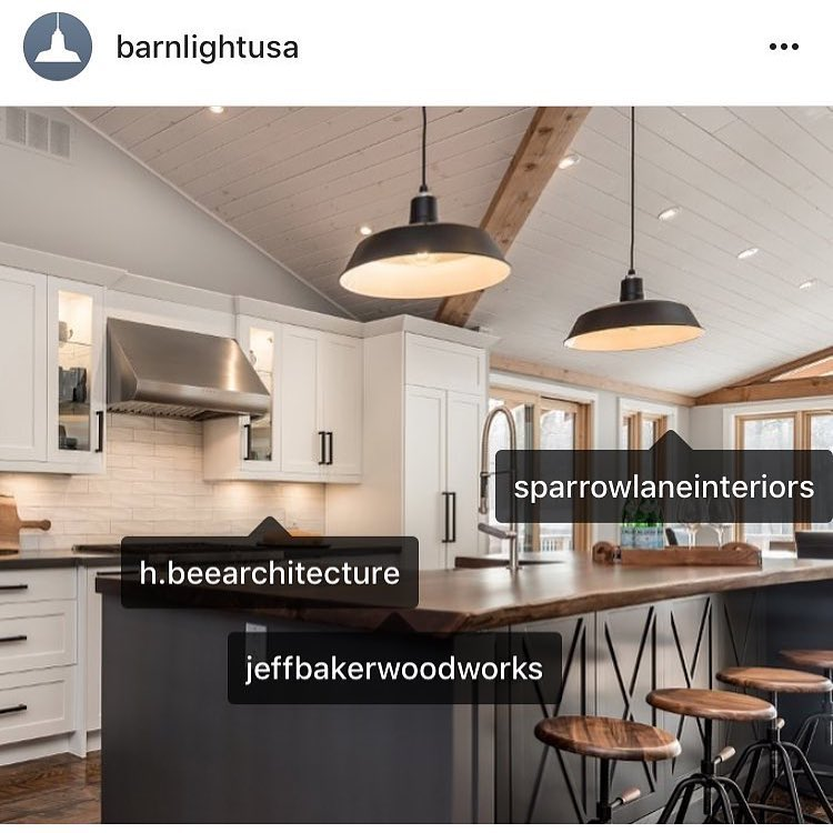 What I love most about this project was the clients desire to collaborate. Including   Sparrow Lane   Interiors  ,  HBeeArchitecture  ,  BarnLightUSA