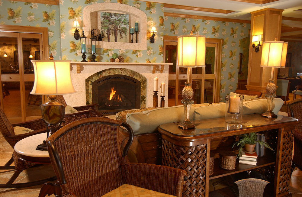 Waterfront Inn Villages-Fireplace Sitting Area Detail.jpg