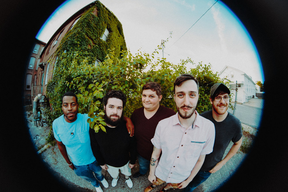 Left to Right: Daniel Hill, Matt O'Brien, Dan Pomfret, Mike Jencks, Alex Caimano  Photo by Kayla Chin Photography