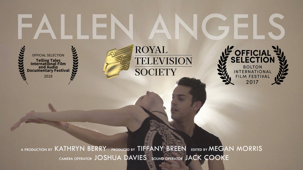 """Poster for """"Fallen Angels"""" Documentary"""