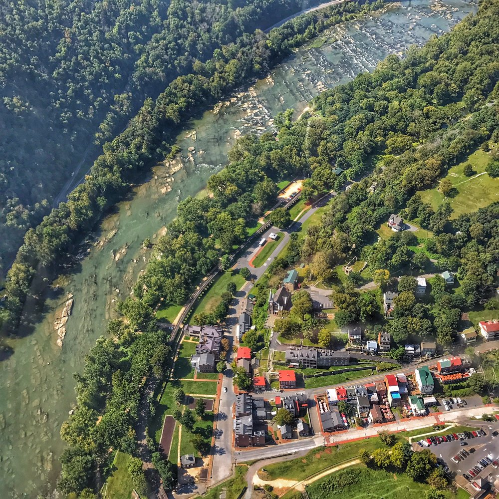 We'd visited Harper's Ferry a lot over the years, but have never seen it like this!