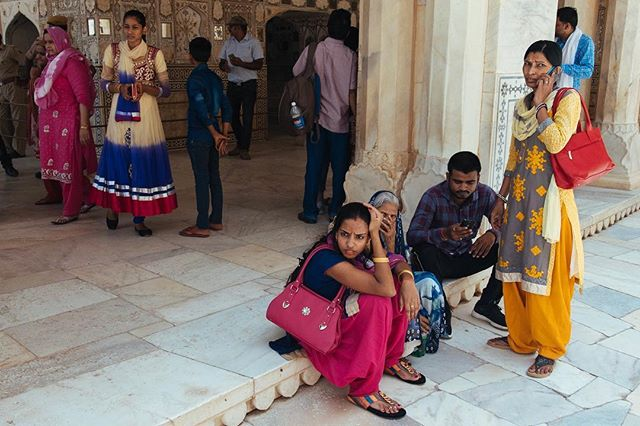 Tourists. Amber Fort, Jaipur. #jaipur #tourist #amberfort #nikond750