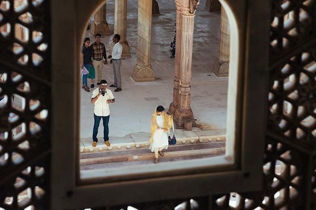 Amber Fort, Jaipur, India. #amberfort #jaipur #nikond750 #colour