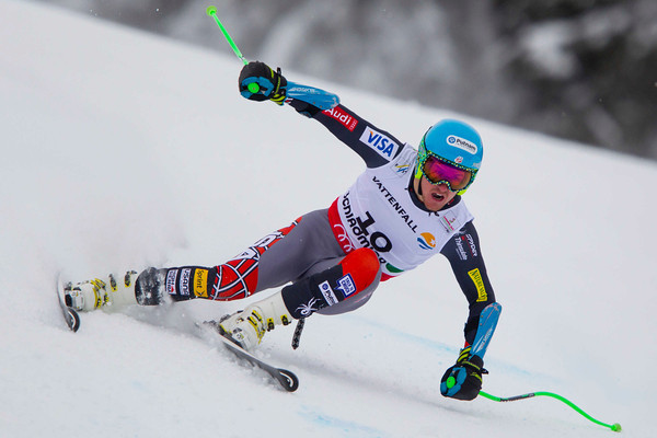 Ted Ligety on the way to winning the world championship super-G // photo by Mitchell Gunn/ESPA, courtesy of U.S. Ski Team
