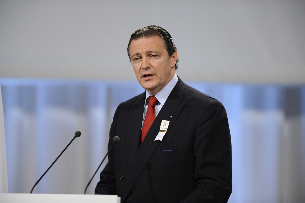 IOC member Richard Carrión