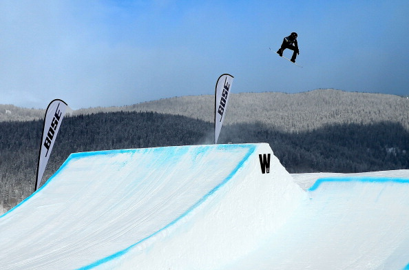 Shaun White competing in slopestyle Dec. 22 in Copper Mountain, Colorado // photo Getty Images