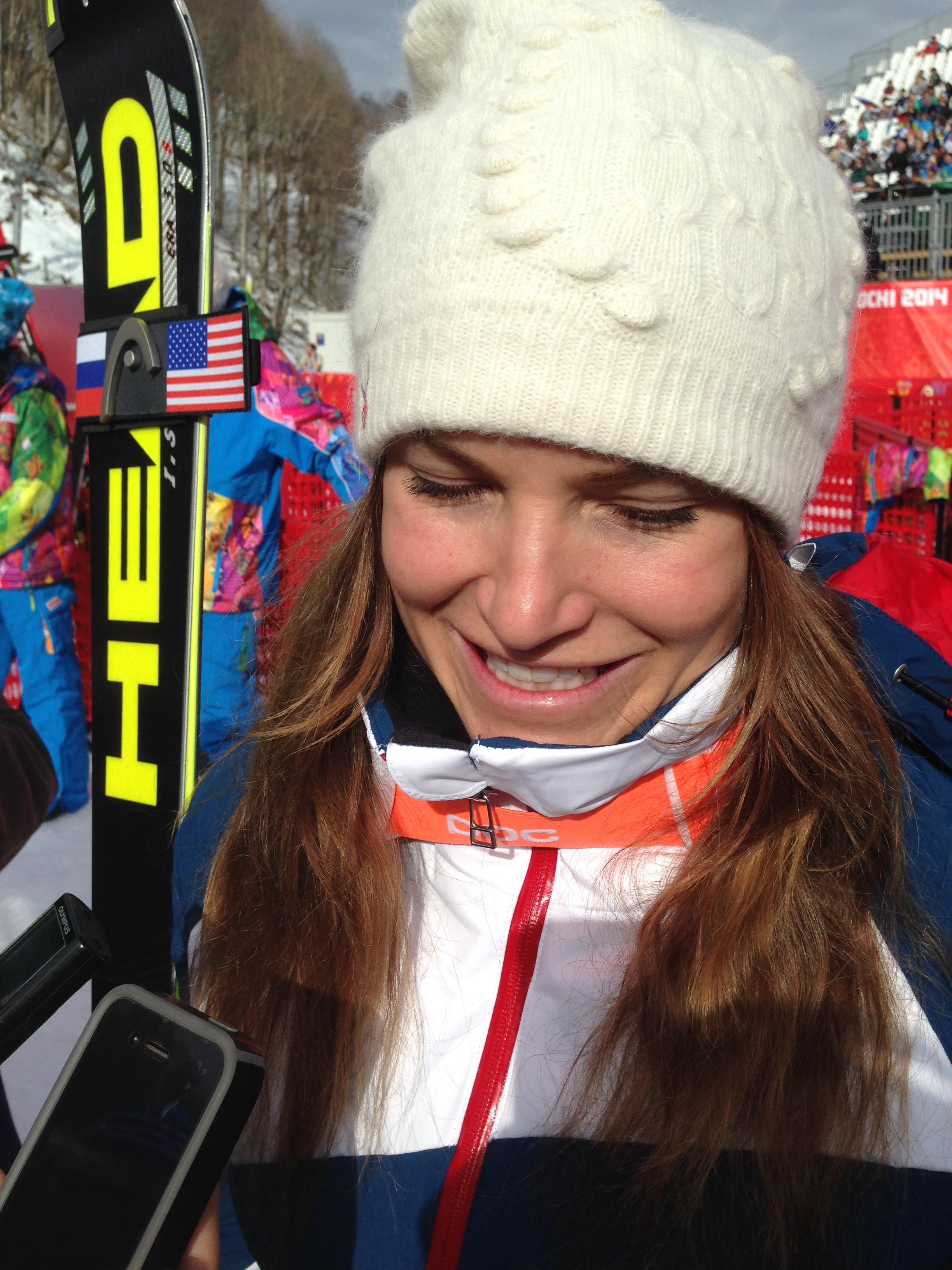Julia Mancuso wins bronze in the Sochi 2014 super-combi