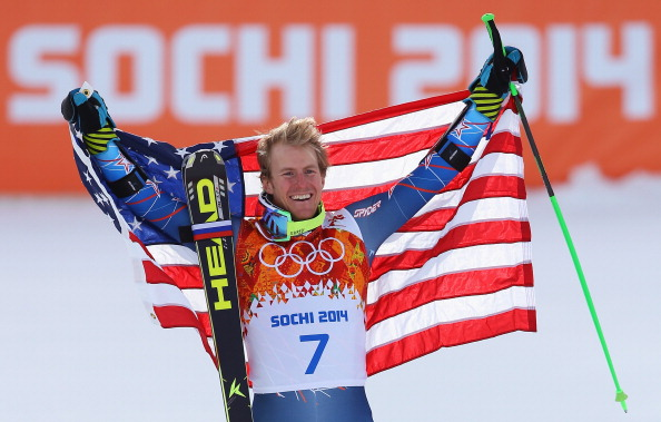 Ted Ligety in victory after the giant slalom // photo Getty Images