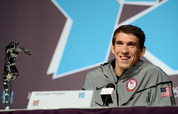 Michael Phelps at the 2012 London Olympics // photo Getty Images