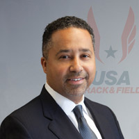 USATF chief executive Max Siegel // photo USATF