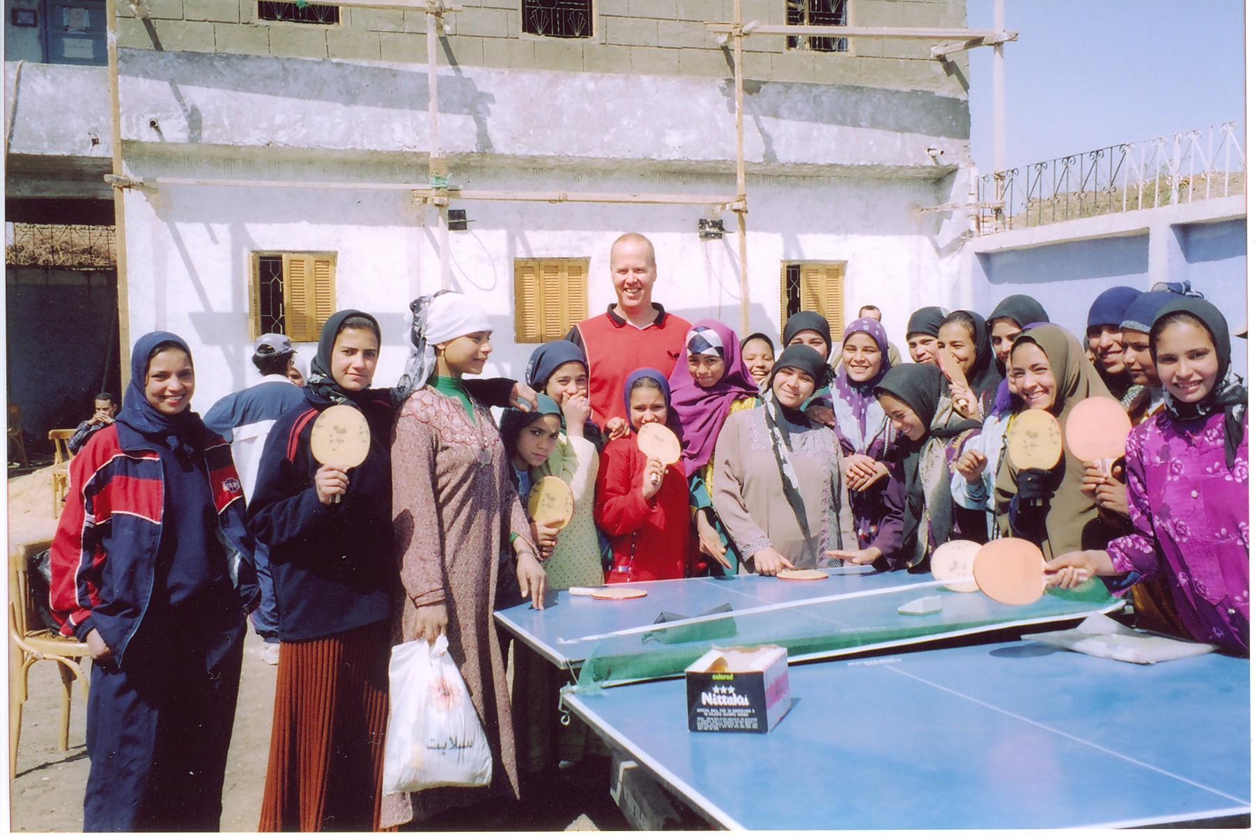 In Egypt in 2003 // photo courtesy Glenn Tepper