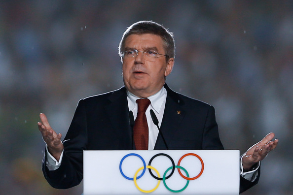 IOC president at the Nanjing Youth Games // photo Getty Images