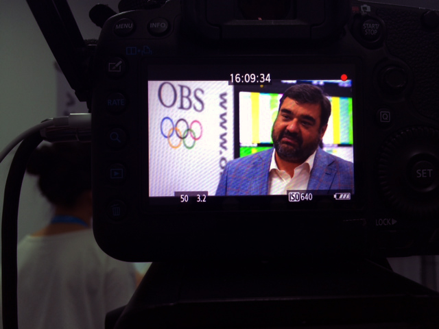OBS  chief executive Yiannis Exarchos