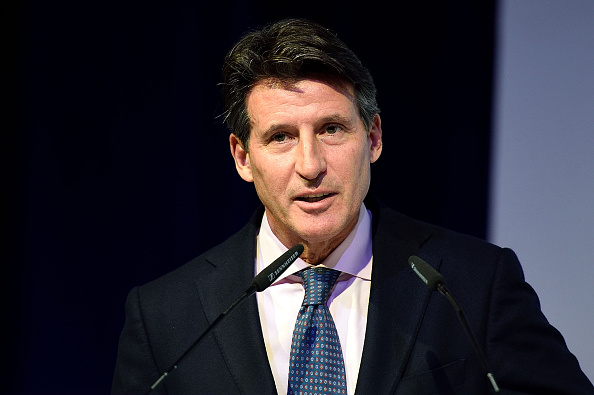 Sebastian Coe at an Assn. of National Olympic Committees meeting earlier this month in Bangkok // photo Getty Images