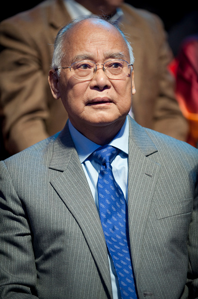 He Zhenliang, the former IOC vice president, in 2008 // Getty Images