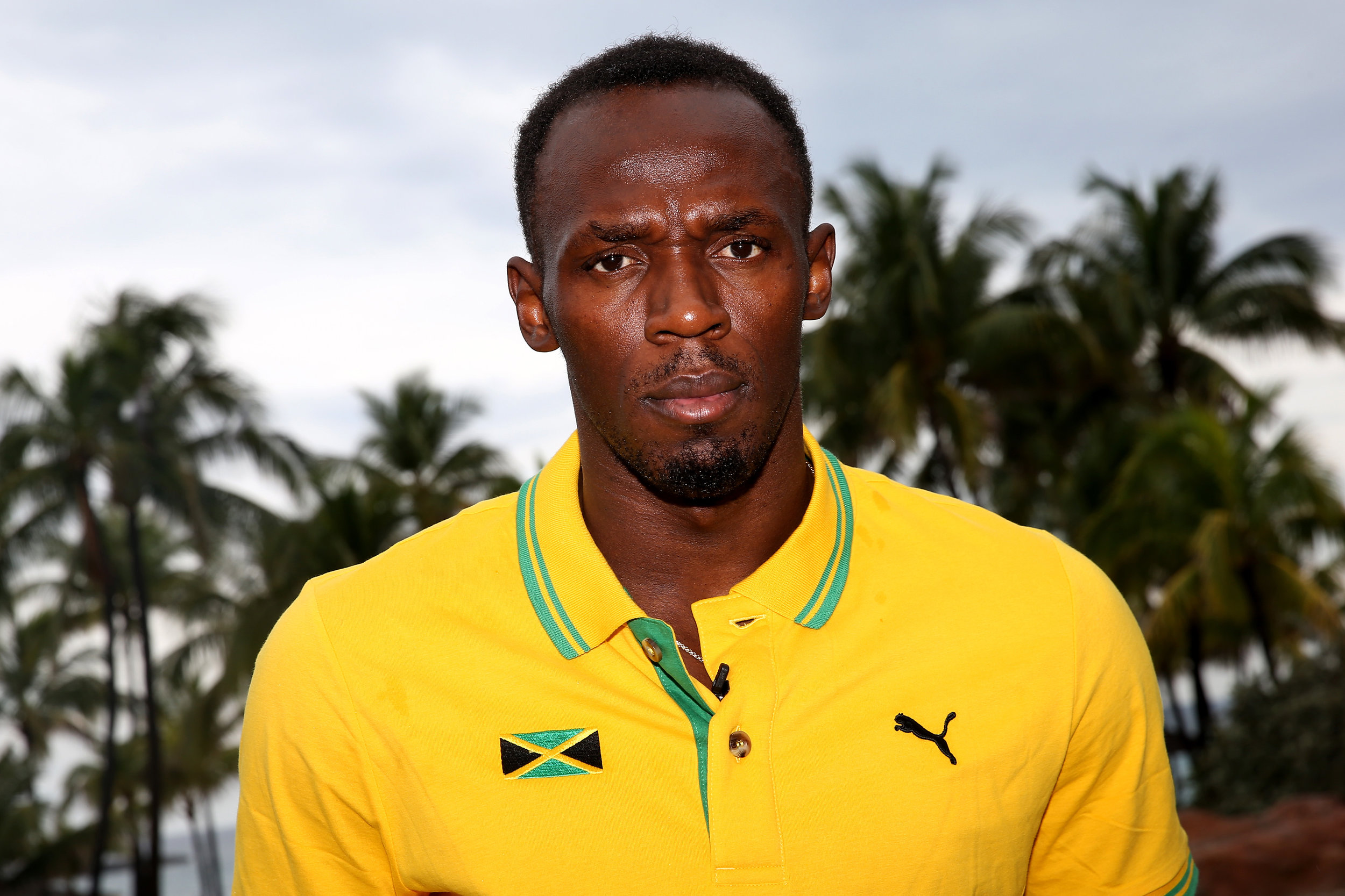 Usain Bolt ahead of the second edition of the World Relays // photo IAAF and Getty Images