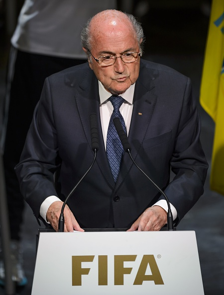 Sepp Blatter at Thursday's opening of the FIFA Congress // Getty Images