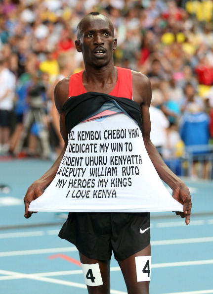 Kemboi in winning form in Moscow two years ago // Getty Images
