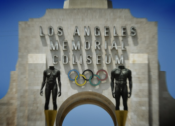 The LA Memorial Coliseum's famed peristyle end // Getty Images