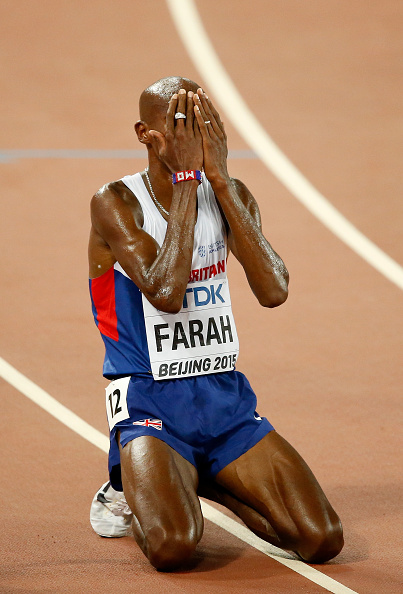 Farah in victory // Getty Images