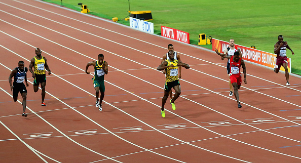 Usain Bolt wins the men's 200 // Getty Images