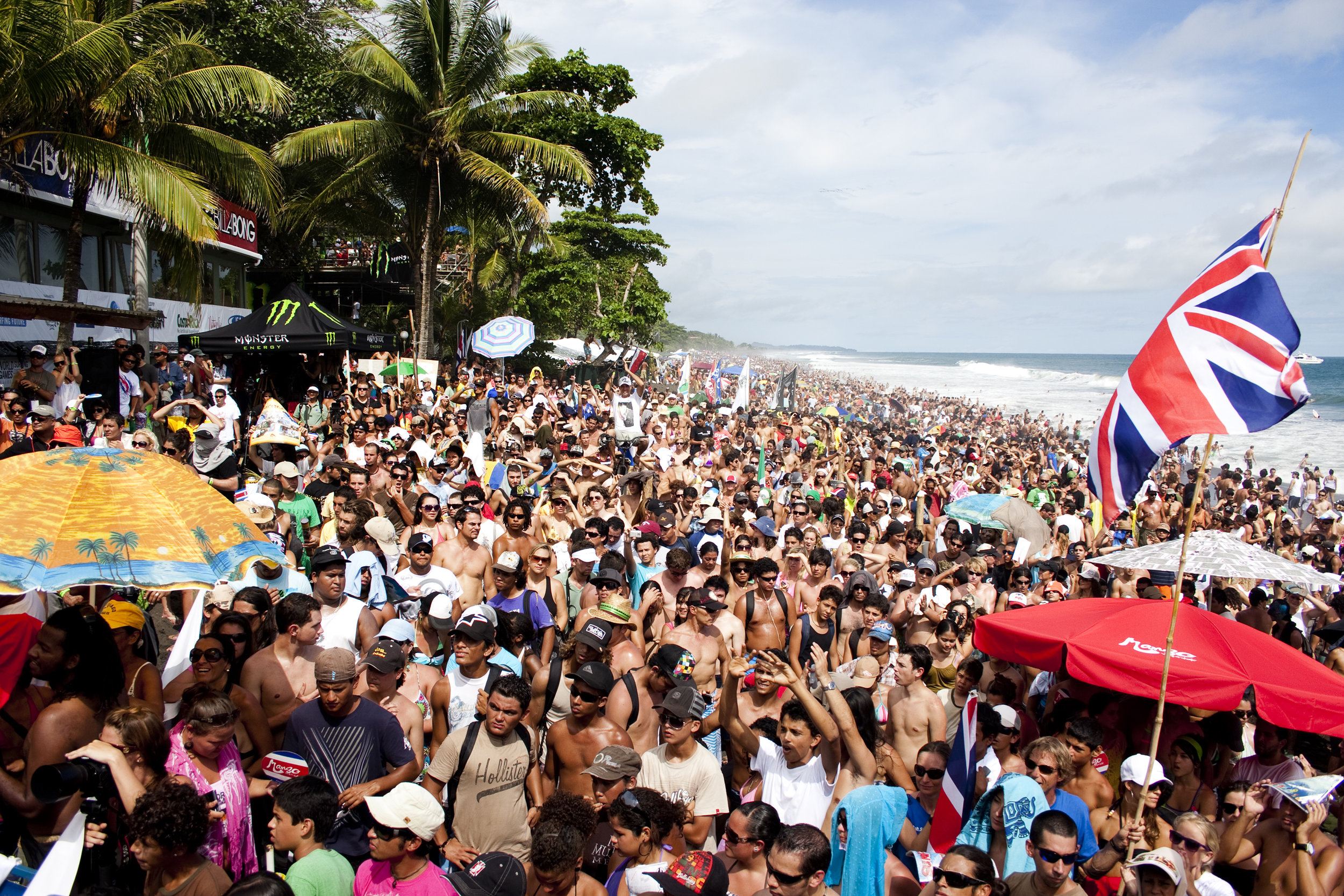 In Costa Rica, at the World Surfing Games // photo ISA