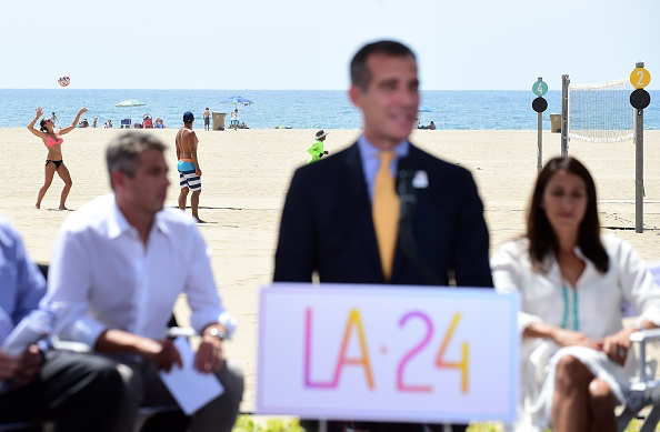 In SoCal, the mayor may have things to say but beach volleyball must carry on // Getty Images