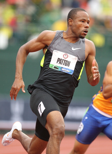 Darvis 'Doc' Patton running at the 2012 U.S. Olympic Trials // photo Getty Images