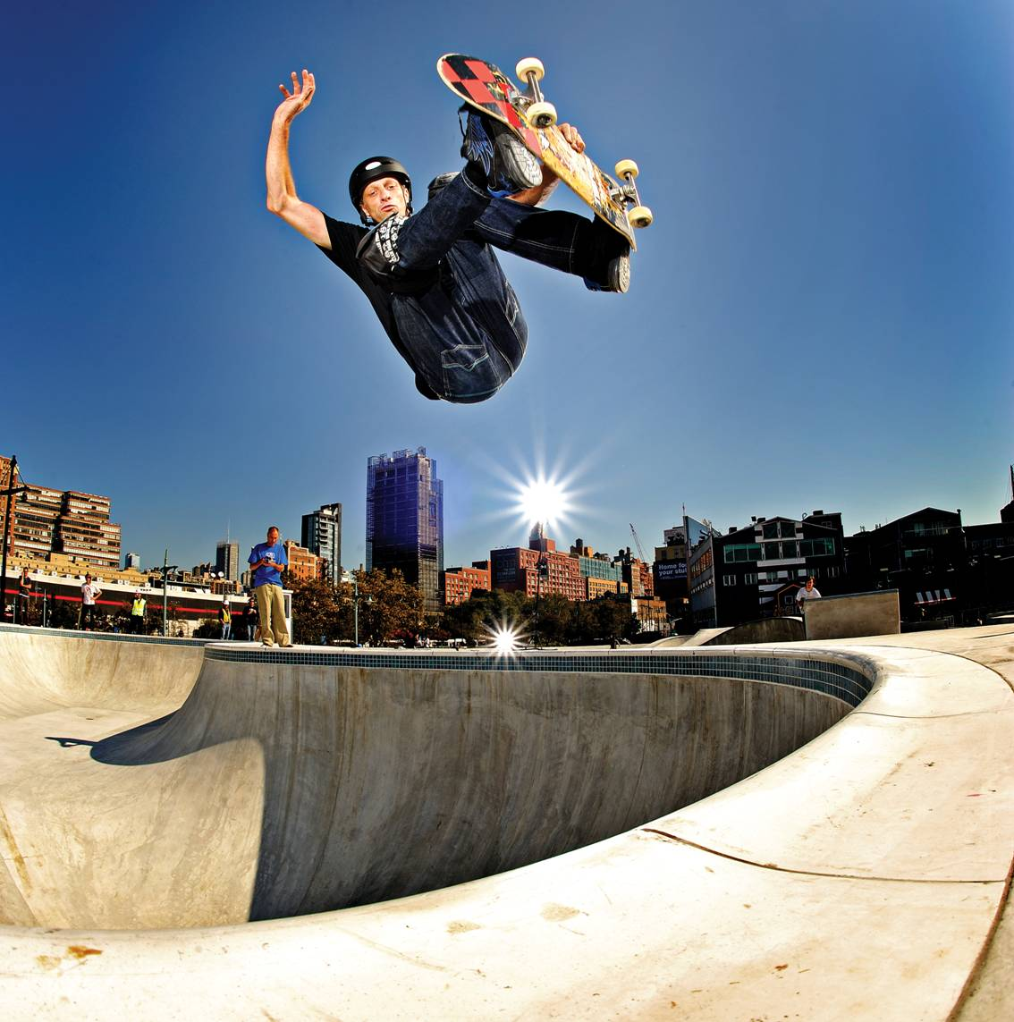 Tony Hawk doing his thing // photo courtesy Tony Hawk Inc.
